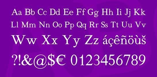 Quivira Serif Font download