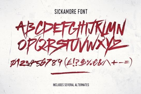 Sickamore Script Font