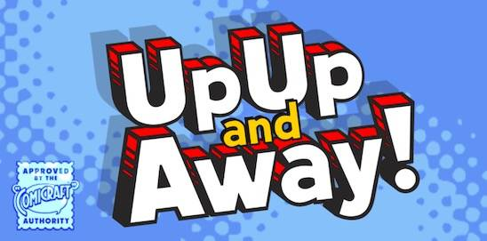 Up Up And Away Font family
