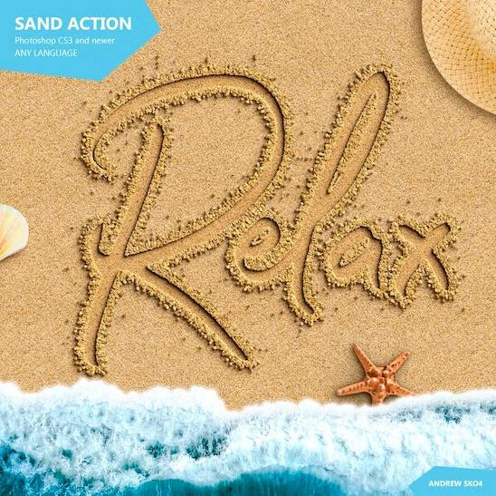 Writing in Sand Font download