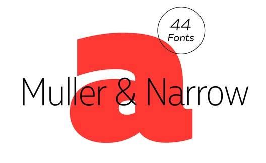 Muller font download