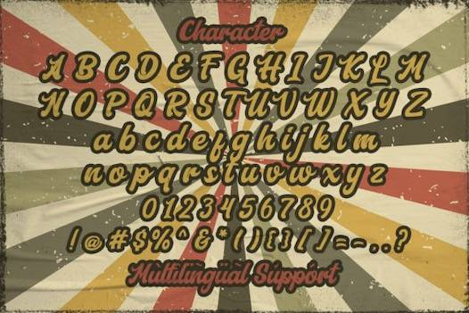 Aerillyo Font free