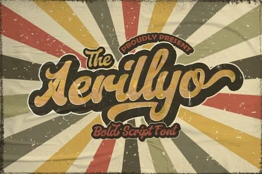 Aerillyo Font free download