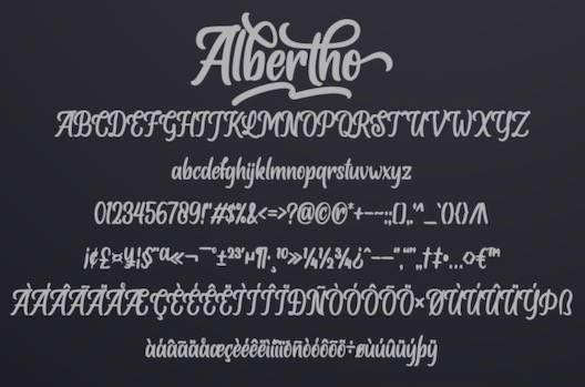 Albertho Font free