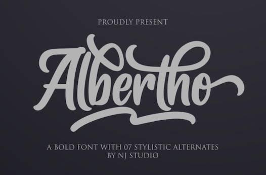 Albertho Font free download