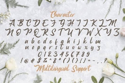 Anjelica font free