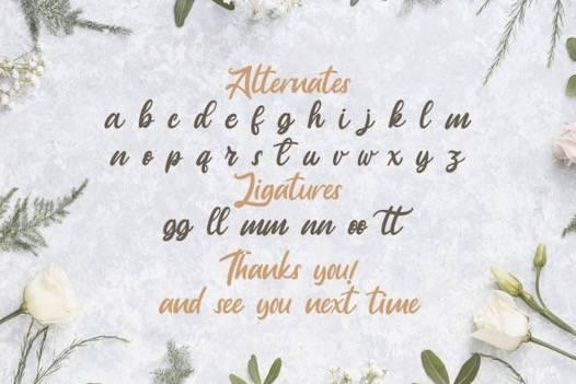 Anjelica font