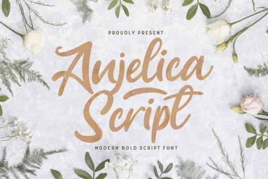 Anjelica font free download