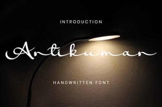 Antikuman Font free download