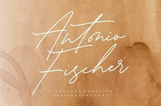 Antonio Fischer Font free download