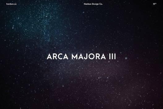 Arca Majora 3 Font free
