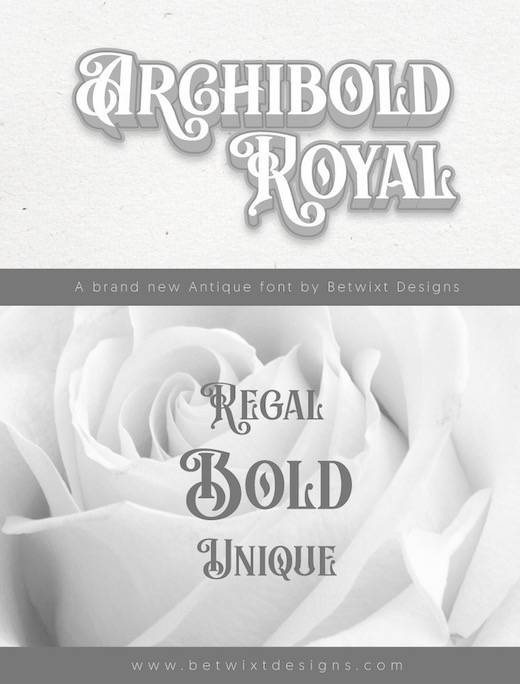 Archibold Royal Font free