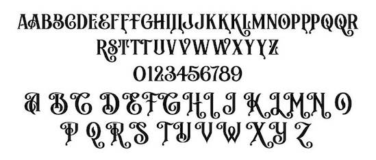 Archibold Royal Font