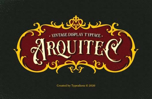 Arquitec Font free download