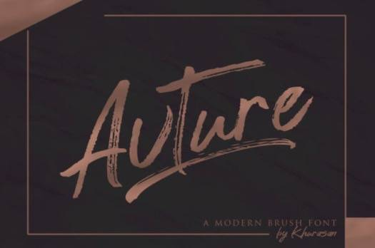 Avture Font free download
