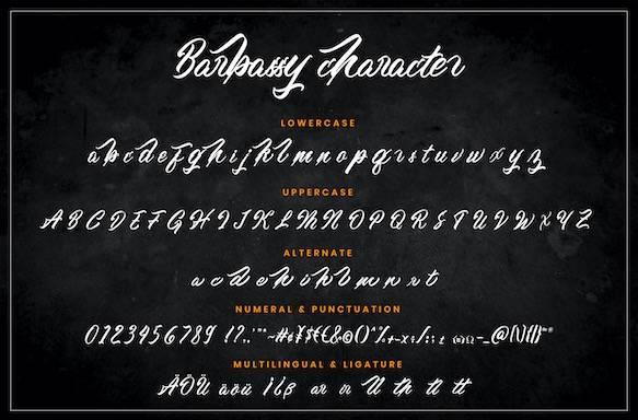 Barbassy Font