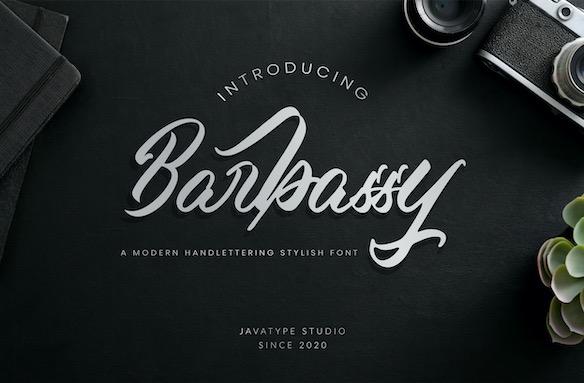 Barbassy Font download