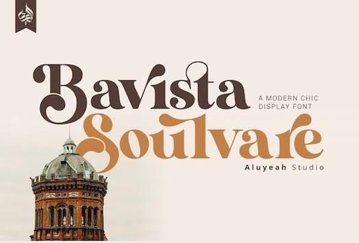 Bavista Soulvare Font free download