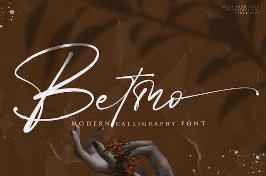 Betmo Font download