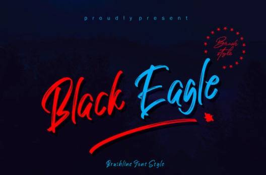 Black Eagle Font free download
