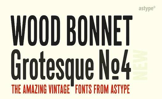 Bonnet Grotesque Nr Font free download