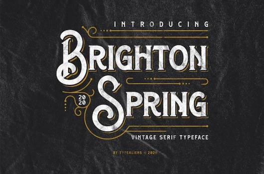 Brighton Spring Font