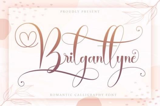 Brilganttyne Font free download