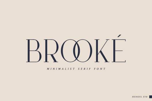 Brooke Font free download