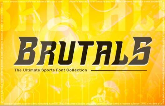 Brutals Font free download