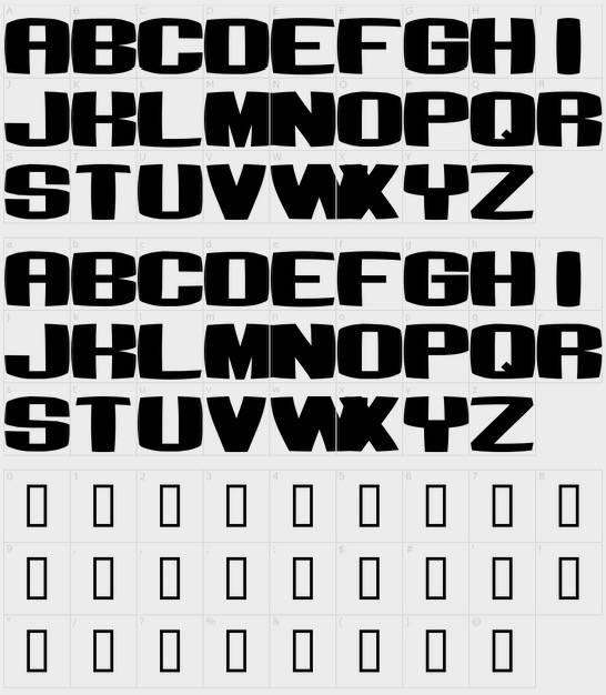 Bumbastika Font free