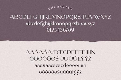 Caligna Typeface