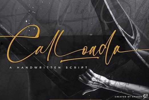 Calloada Font free download