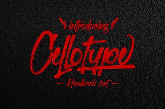 Cellotype Font free download