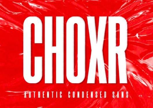 Choxr Font