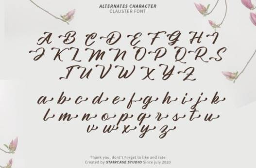 Clauster Font download