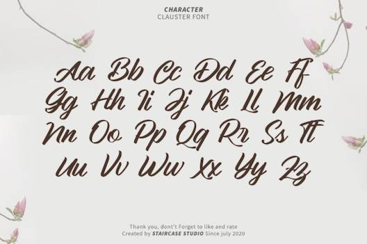 Clauster Font free download