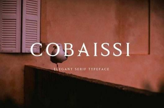 Cobaissi Font download