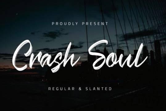 Crash Soul Font thumbnail