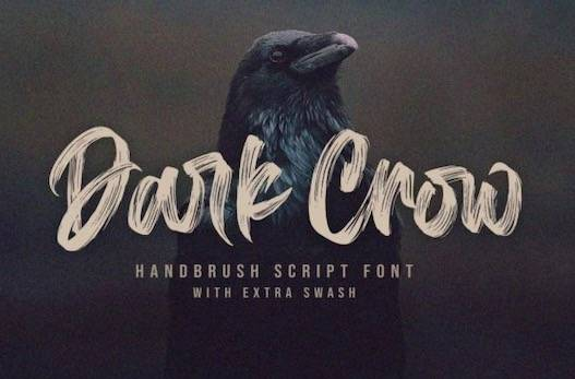 Dark Crow Font free download