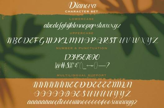 Dianora Font free