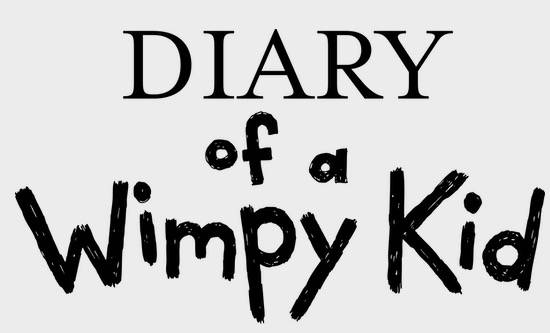 Diary Of a Wimpy Kid Font