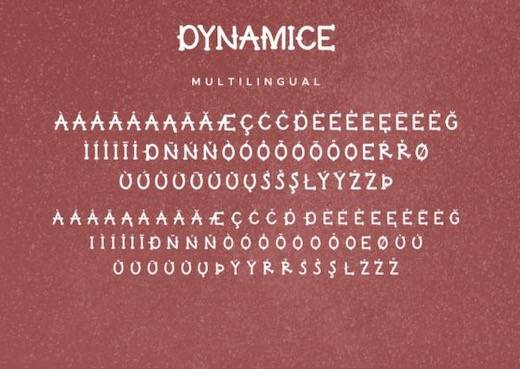 Dynamice Font Duo free