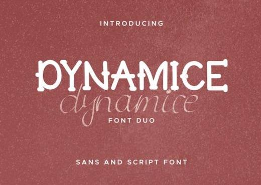 Dynamice Font Duo free download