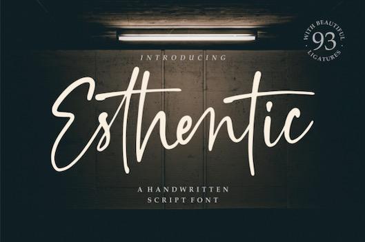 Esthentic Font free download
