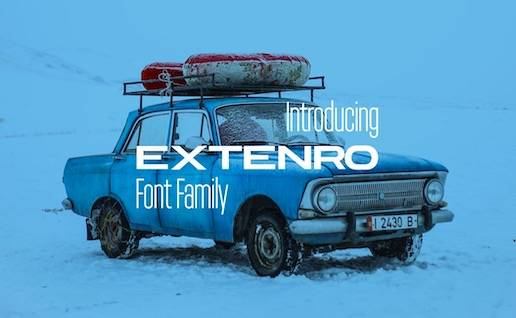 Extenro Font free download