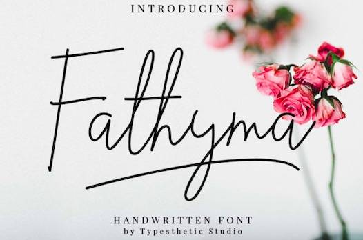 Fathyma Font free download