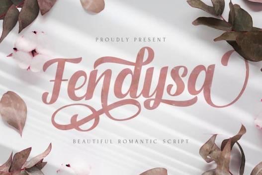Fendysa Font free download