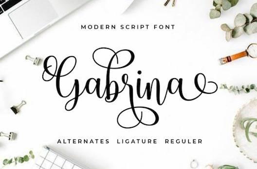 Gabrina Font download