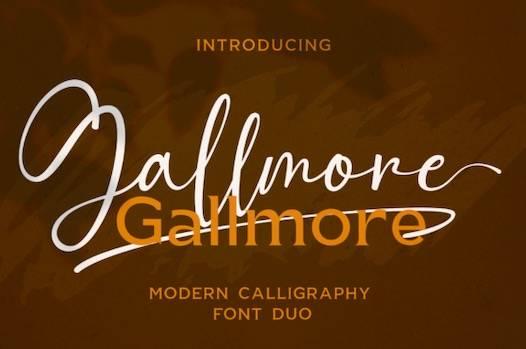 Gallmore Font Duo free download