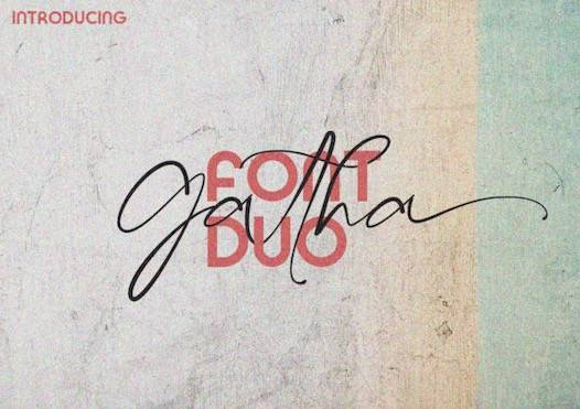 Gatha Font Duo free download